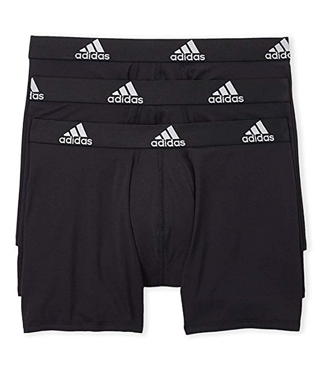 5027b99ea229 adidas Mens 3 Pack Climalite Performance Boxer Briefs at Amazon Men s  Clothing store