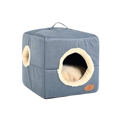 Cama Lavable para Mascotas Nest Plush Soft Deluxe Cama cómoda para Mascotas Cat Waterloo Cojín extraíble