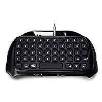 Picozon Bluetooth Wireless Mini Keyboard KeyPad Adapter for PlayStation 4 DualShock Controller