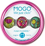 Mogo Design Funky Flowers Charms