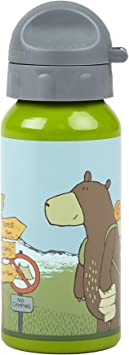 Sigikid 24768 18 x 6.5 x 6.5 cm Forest Grizzly Water Bottle by Sigikid