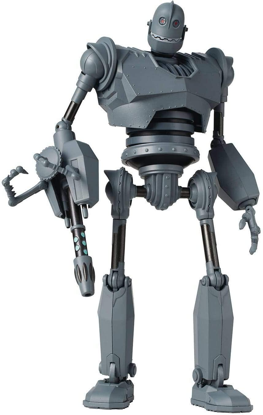 Figura El gigante de hierro 16 cm. 1000toys. Battle Mode Version. Previews Exclusive. Diecast