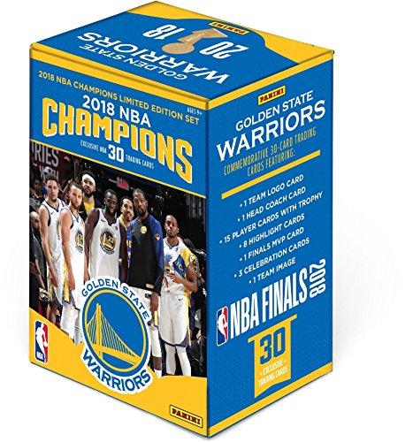 Golden State Warriors 2018 NBA Finals Champions Panini 30 Card Team Set - Basketball Team Sets