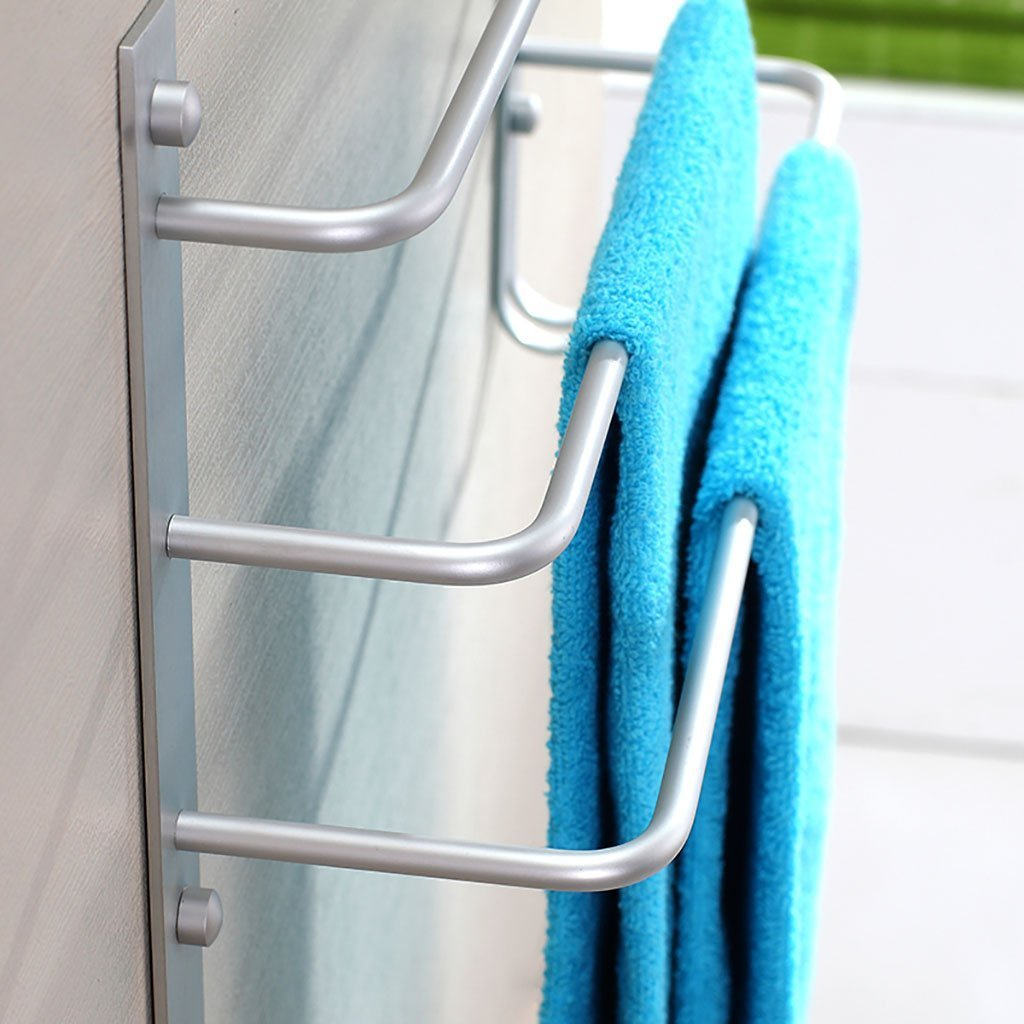 DACHUI Bath rooms linearly in the aluminum towel rail hanging rack 3-animal bath bath rooms rooms towel rail towel rail by DACHUI (Image #4)