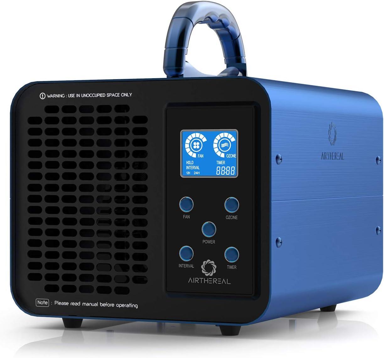 Airthereal Ma10k Prodigi Digital Ozone Generator 10 000 Mg H O3 Machine Home Air Ioniser Deodorant Adjustable For All Room Sizes Amazon De Kuche Haushalt