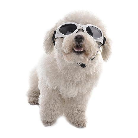miju Gafas de Sol para Mascotas, UV Gafas Protectoras para Gatos o Perros Pequeños,