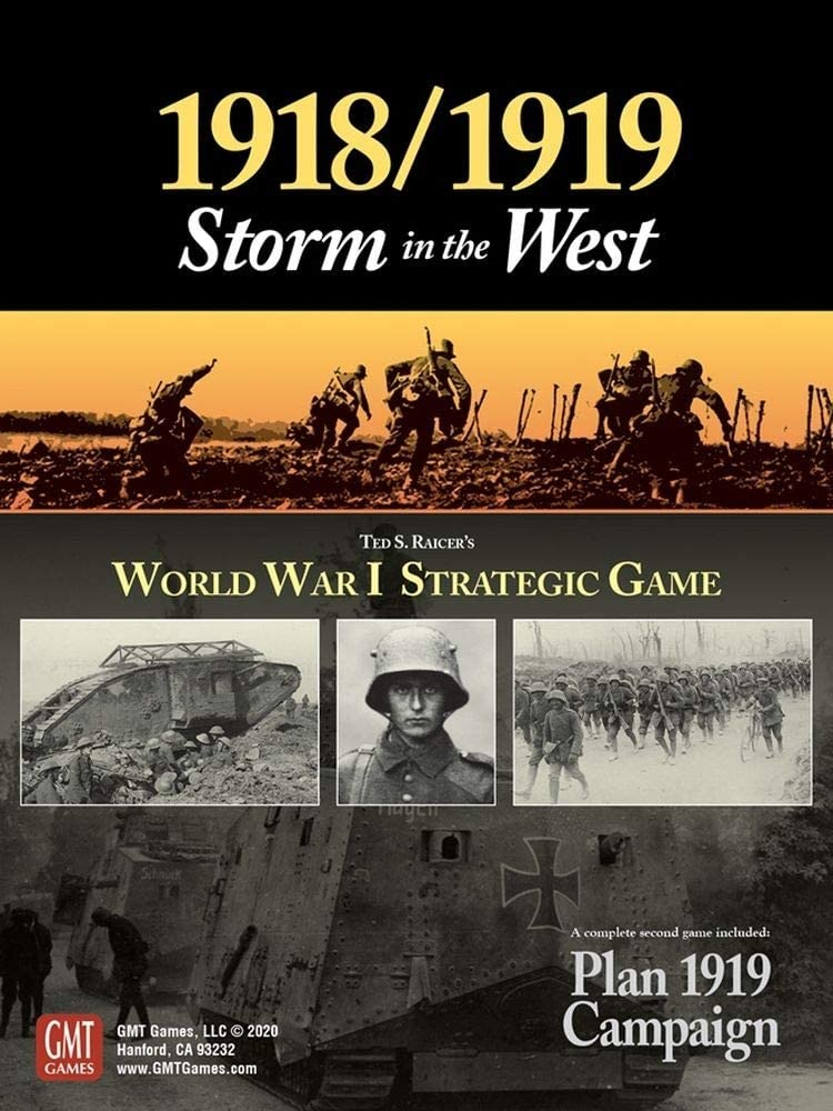 GMT: 1918 / 1919, Storm in The West, Boardgame, 2nd Edition