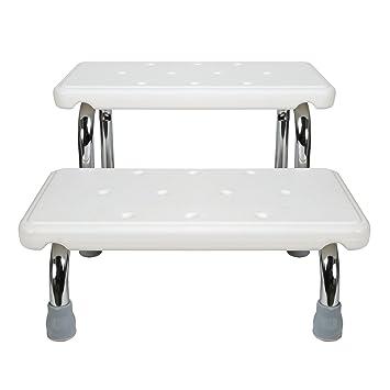 Amazon.com: Baño Seguridad Marco de acero con pasos – 2 ...