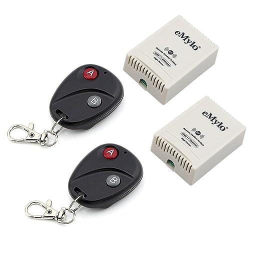 14 opinioni per eMylo® AC 220V 3000W 30A 2x 1 Canale Smart Remote Control switch trasmettitore