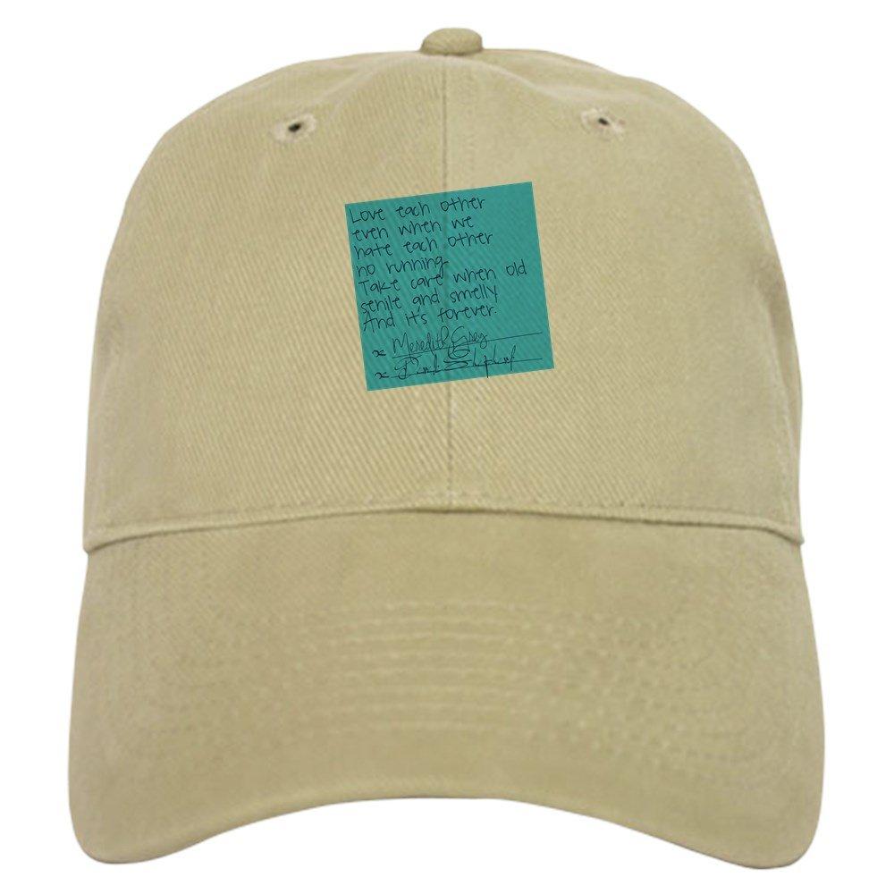 Amazon Cafepress Greys Anatomy Sticky Note Baseball Cap