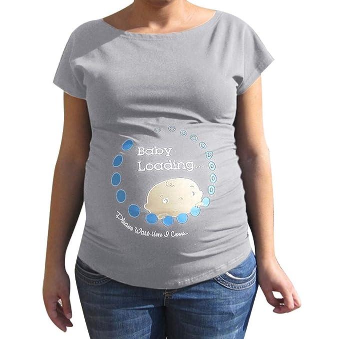 a22e46872 Zarupeng-Blusa Embarazada para Premamá