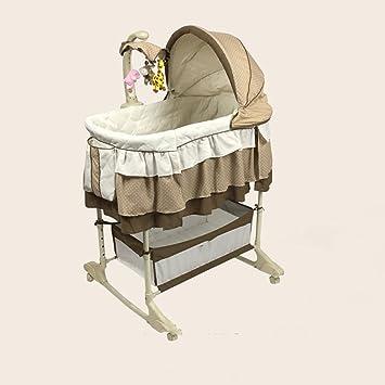 qffl tilan babykorb multifunktionale kleine korbbett neugeborenen wiege bett babybett mit moskitonetz prinzessin bett 8 farben