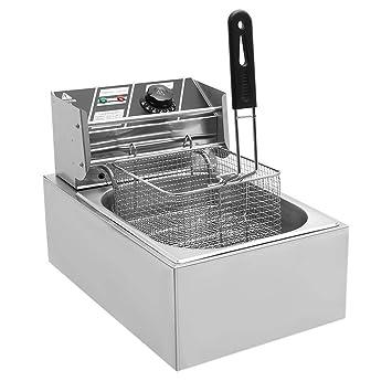 yesper 10L 2500 W fritura eléctrico (fría zonas fritura freidora Acero Inoxidable fritöse tentempiés Acero Inoxidable: Amazon.es: Hogar
