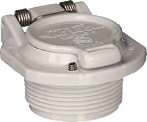 Hayward W400BWHP White Free Rotation Vacuum Lock Safety Wall Fitting Replacement for Hayward Navigator Pool Cleaners