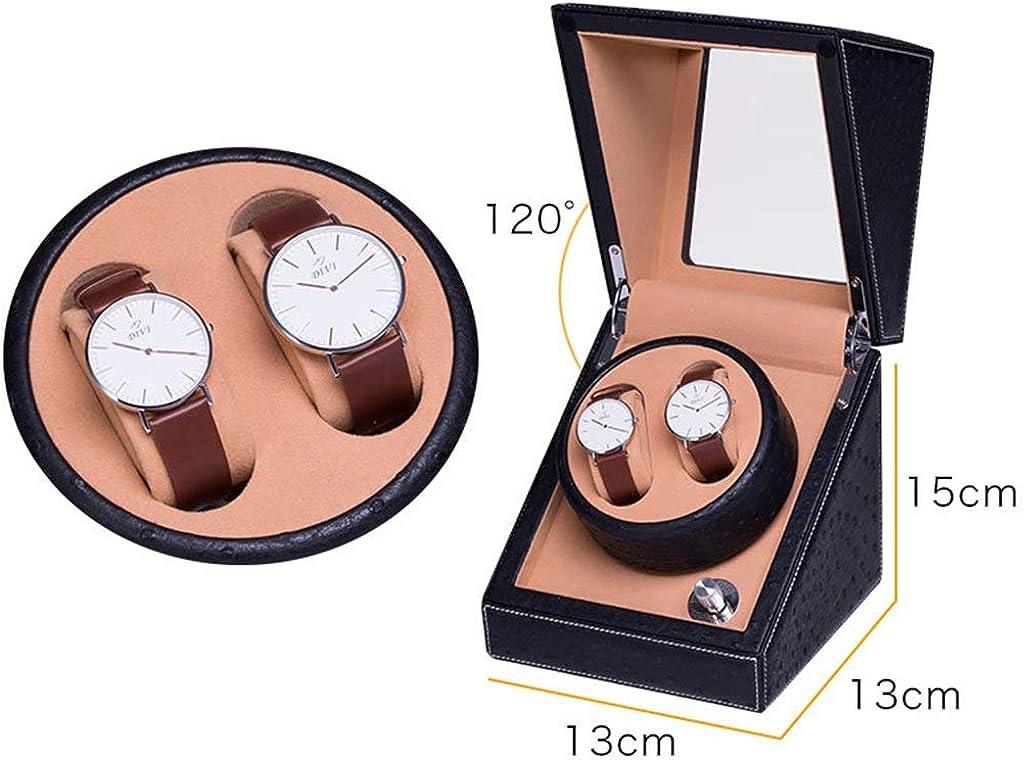 Scatola portagioie girevole per orologi (colore: A) B