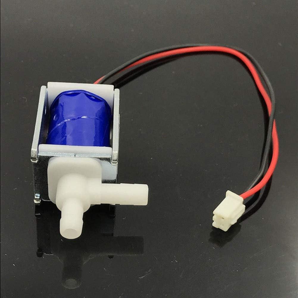 onewell DC 12 V Mikroelektrisches Magnetventil N//C normal geschlossen Wasser-Luftventil Magnetventil