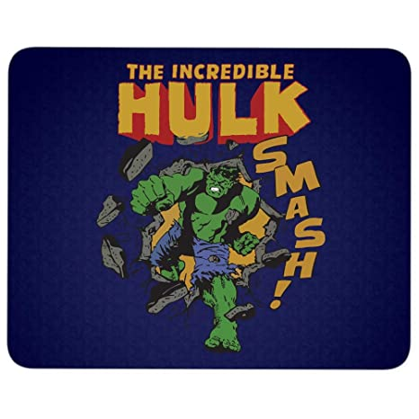 Amazon.com : The Incredible Hulk Smash Mouse Pad for Typist ...
