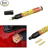2pcs Magic Fix It Pro Car Scratch Repair Remover Filler Sealer Pen Clear Coat Applicator Tool, Only for light scratches