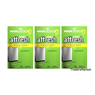 Affresh Dishwasher Cleaner, 6 Tablets (3 Pack)