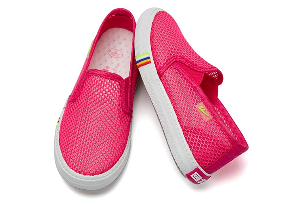 iDuoDuo Kids Breathable Mesh Canvas Shoes Loafers Casual Sandals Toddler//Little Kid//Big Kid