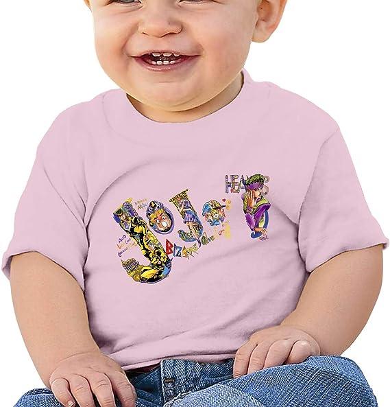 RZJMRU JoJo Custom 2020 Tee for Baby Boy and Baby Girl T Shirt Black