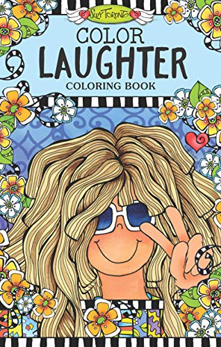 Tote Toronto - Color Laughter Coloring Book (Perfectly Portable Pages) (On-the-go! Color Book)