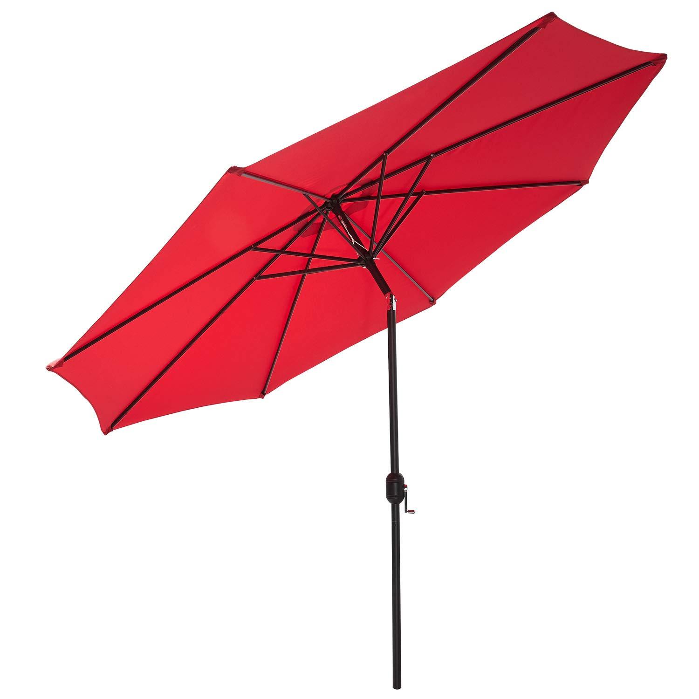 Ombrellone Gartenfreude 4900-1000-117 Colore Rosso