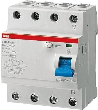 Perfect Abb Entrelec F204 A 40 F204 A Differential/0,3 U2013 40