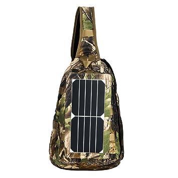 GDSZ 5 W Honda Mochila De Pesca Panel Solar Militar Bolsa De Triángulo De Energía para Acampar Mochila Ultimate Mochila para Escalar Voyage Outdoor Sports ...