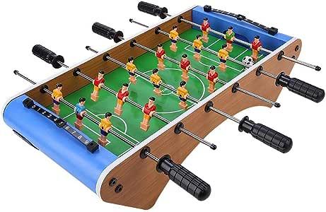 Zerodis Futbolín de Mesa Juego Mesa de Fútbol para niños Futbolin ...