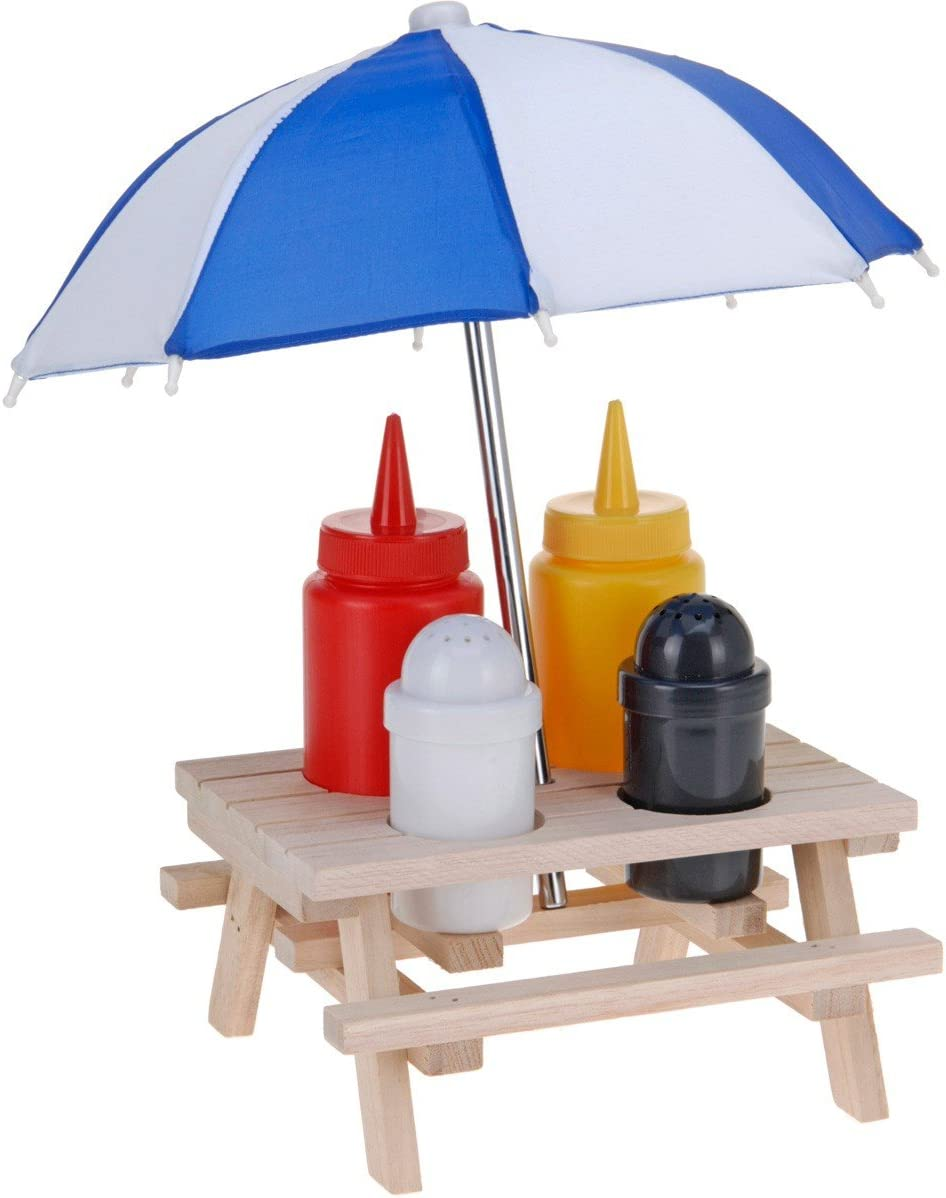 Picnic Table Condiment Set by Guaranteed4Less
