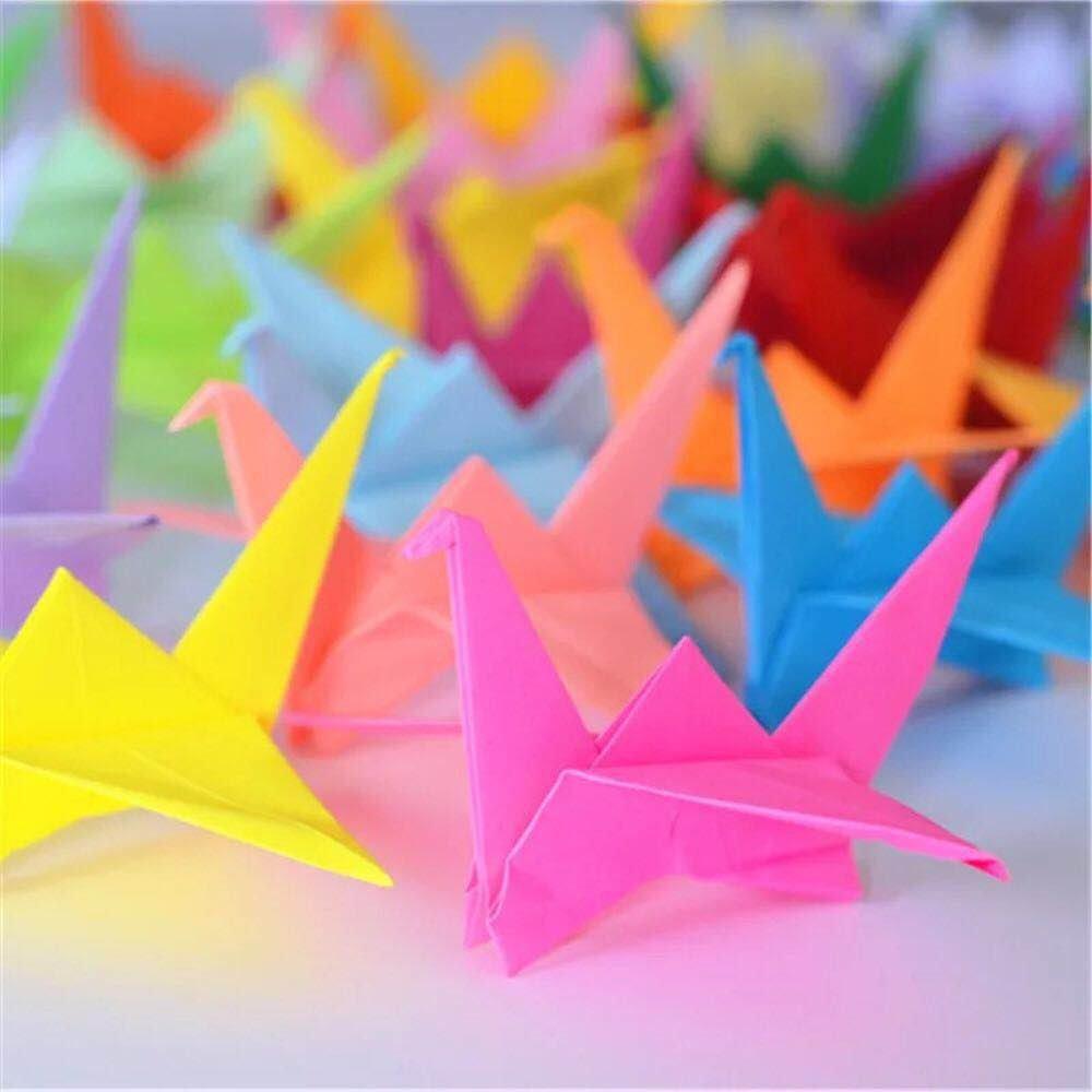 Origami,Papel para Papiroflexia 100 Hojas Set de Papel ...