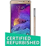 (CERTIFIED REFURBISHED) Samsung Galaxy Note 4 (Gold)