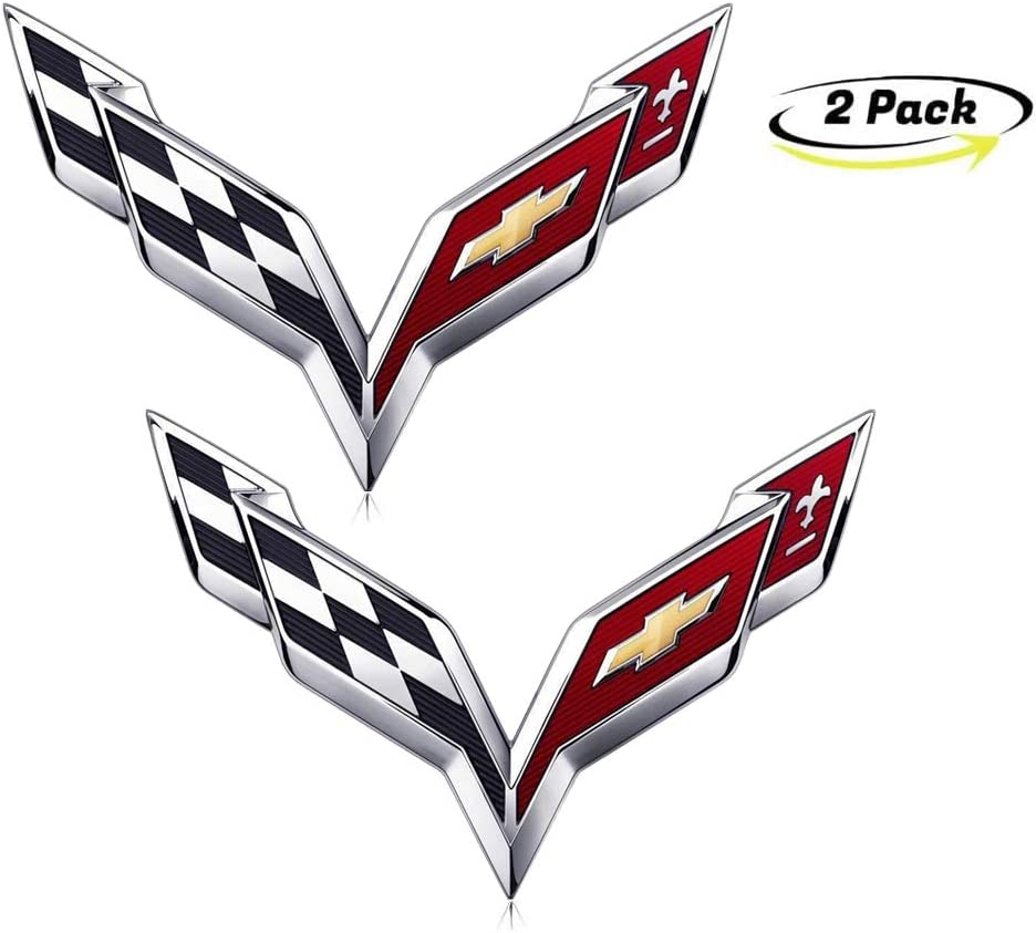 5.7 Long 3D Aluminum Trim Fender Hook Trunk Badge Decal Stickers Replacement for Ford XIDE-2pcs 3D Zinc Alloy 5.0L Coyote V8 Emblems for Ford Mustang F150
