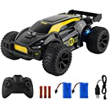 ADDSMILE Remote Control Car, 2.4GHz 1:22 Scale RC Car High-Speed Racing Car Toy Car with 100mins Running Colorful LED Light 2