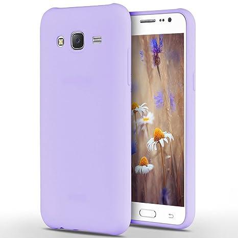 Anfire Funda para Samsung Galaxy J3 2016, Carcasa Silicona Gel TPU Ultra Delgado Suave Mate Goma Protectora Caso Flexible Caja Ligero Back Case Cover ...