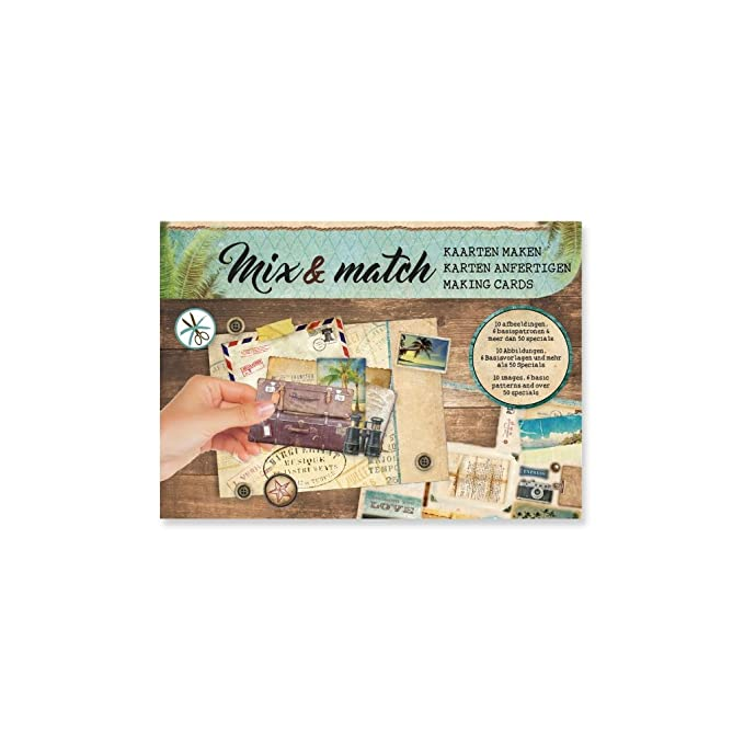 Design Papier Mix and Match für Scrapbooking - Journey x1: Amazon.de ...
