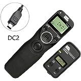 Pixel TW-283/DC2 Disparador inalámbrico temporizador Mandos a distancia Para Nikon cámaras digitales D7200 D7100 D7000 D5500 D5300 D5200 D5100 D3300 D3200 D3100 D750 D610 D600 D90 Df