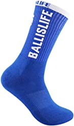Ballislife Royal Blue/White Elite Socks (1 Pair)