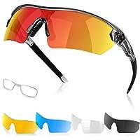 Gafas de Sol Deportivas Polarizadas para Hombre y Mujer, Protección UV Gafas de Sol para Correr,…