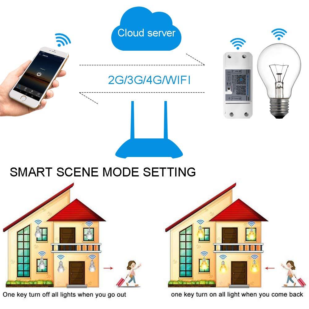 Wifi Contr/ôleur IP67 Paquete de 20 patio o jard/ín exterior 45/mm de di/ámetro Blanc Chaud Foco empotrable para suelo de terraza