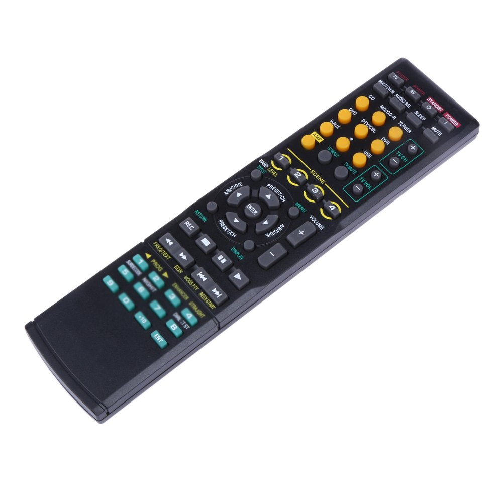 LR Generic Remote Control Fit For RAV386 RAV-386 RAV-381 RX-V2800 RXV2800 RXV3900BL RXV-3900BL RAV287 RAV-287 WR002100 RXV1065B For Yamaha AV System Receiver