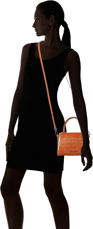 Steve Madden LACIE Top Handle Bag Croco Cognac