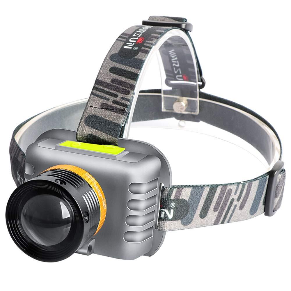 GXY Starke Scheinwerfer Wiederaufladbare Bergmann Lampe Angeln Lampe Wasserdicht Kopf Montiert Taschenlampe Scheinwerfer