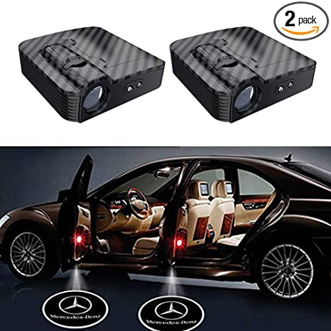 USA SELL-2Pcs For LINCOLN LOGO WIRELESS LED CAR DOOR WELCOME PROJECTORS LIGHTS