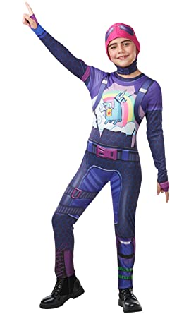 Amazon.com: Rubies Fortnite Brite Bomber Teen Costume ...