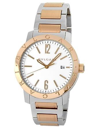 c2e266754a42 [ブルガリ] BVLGARI 腕時計 ブルガリ BB41WSPGD ブルガリブルガリ SS/PGコンビ ホワイト [中古