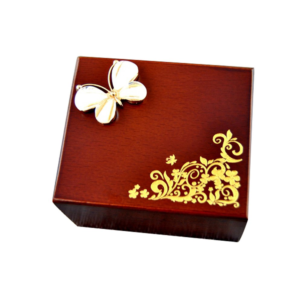 YouTang Music Box, Rhinestone Wooden Musical Box,Musical Toys,Tune:Always with Me from The Spirited Away Shenzhen Youtang Trade Co. Ltd KAHD-35WDJ