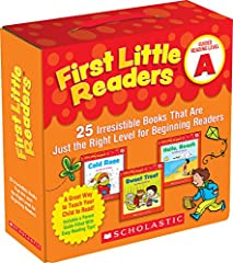 Jumpstart reading success with this big collection of motivating storybooks correlated with Guided Reading Level A. Most pages of these full-color storybooks feature just one line of simple, repetitive text to help children learn to re...