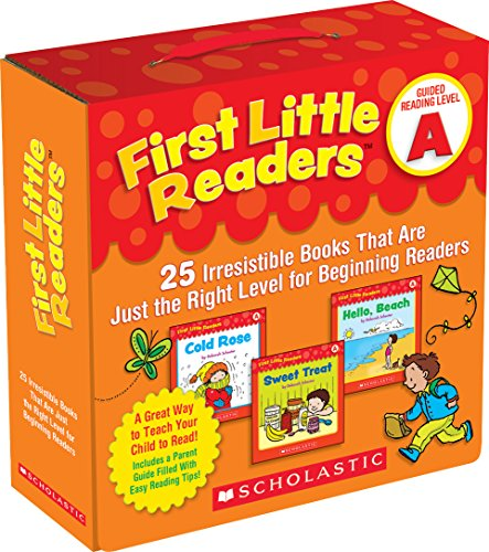 First Little Readers Parent Pack: Guided Reading Level A: 25 Irresistible Books That Are Just the Right Level for Beginning Readers -